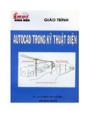 Giáo trình AutoCad trong kỹ thuật điện - Trường Đại Học Công Nghiệp Tp.HCM