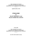 ENGLISH IN ELECTRONICS AND TELECOMMUNICATIONS