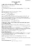 Đề thi thử đại học khối B môn toán năm 2013 - đề 1