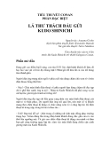 TIỂU THUYẾT CONAN PHẦN ĐẶC BIỆT  - LÁ THƯ THÁCH ĐẤU GỬI KUDO SHINICHI