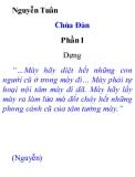 Chùa Đàn Phần I - Nguyễn Tuân