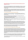 Một số giải pháp kiểm soát chi phí nhằm nâng cao hiệu quả hoạt động trong doanh( p1) 19-02-2011