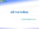 Lý thuyết đồ thị  (Nguyễn Thanh Sơn) - chương 4 ĐỒ THỊ PHẲNG