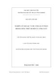 Luận văn: NGHIÊN CỨU BỘ LỌC VÀ BÙ CÔNG SUẤT PHẢN KHÁNG DÙNG THIẾT BỊ ĐIỆN TỬ CÔNG SUẤT