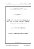 Luận văn: NGHIÊN CỨU ẢNH HỞNG CỦA CHẾ ĐỘ KHUẤY ĐẾN CHẤT LỢNG MẠ COMPOSITE CHROME