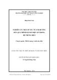 Luận  văn:  NGHIÊN CỨU MỘT SỐ YẾU TỐ ẢNH HƯỞNG ĐẾN QUÁ TRÌNH SỤP ĐỔ ĐIỆN ÁP TRONG HỆ THỐNG ĐIỆN
