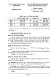 Đề thi học sinh giỏi tỉnh Hải Dương năm 2011 - 2012