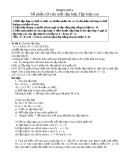 Chuyên đề bòi dưỡng toán lớp 6