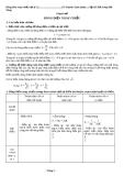 Chuyên đề ôn thi môn Lý: Dòng điện xoay chiều