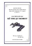 Giáo trình môn học Kỹ thuật Robot - Bùi Như Cao & Trần Hữu Toàn