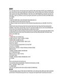 Một số bài tập và bài giải môn kế toán