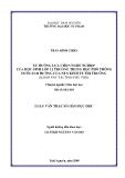 Luận văn: XU HƯỚNG LỰA CHỌN NGHỀ NGHIỆP CỦA HỌC SINH LỚP 12 TRƯỜNG TRUNG HỌC PHỔ THÔNG DƯỚI ẢNH HƯỞNG CỦA NỀN KINH TẾ THỊ TRƯỜNG (KHẢO SÁT TẠI TỈNH PHÚ THỌ)