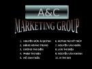 """Thuyết trình """" Văn hóa Trung Quốc"""" - A& C  Marketing group"""