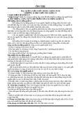 Ôn Thi Môn Quản lý Sản Xuất Trong Chăn Nuôi