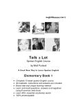 Talk a lot Sponken english course by Matt Purland