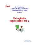 Bài giảng về Mạch điện tử 2