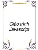 Giáo trình môn học Javascript