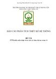 ĐỒ ÁN TỐT NGHIỆP - PTTK phần mềm nhập và tra cứu các hàm, thủ tục trong VB