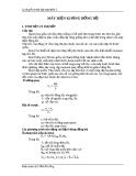 Lý thuyết và bài tập máy điện 2 - Máy điện không đồng bộ