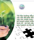 Tài liệu hướng dẫn tích hợp các vấn đề về biến đổi khí hậu