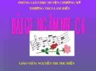 Bài giảng âm nhạc 6