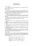 Đề thi tham khảo môn xác suất thống kê