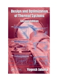 design and optimization of thermal systems A Series of Textbooks and Reference Books Founding