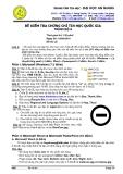 Đề kiểm tra chứng chỉ tin học quốc gia trình độ A-4  - đại học An Giang( 19/09/2010)