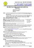 Đề kiểm tra chứng chỉ tin học quốc gia trình độ A - 3- đại học An Giang ( ngày 27/6/2010)