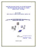 Đồ án tốt nghiệp - Phân tích thiết kế hệ thống - Mainframe, Workstations, Servers