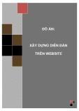 Đồ án tốt nghiệp - Phân tích thiết kế hệ thống - XÂY DỰNG DIỄN ĐÀN TRÊN WEBSITE