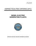 2004 UNIFIED FACILITIES CRITERIA (UFC) DIESEL ELECTRIC GENERATING