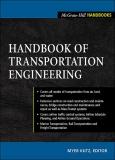 HANDBOOK OF TRANSPORTATION ENGINEERINGP
