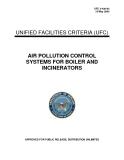AIR POLLUTION CONTROL SYSTEMS FOR BOILER AND INCINERATORS