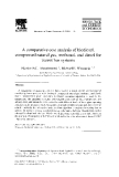 A comparative coes analysis of biodiesel, compressed natural gas, methanol, and diesel for transit bus system