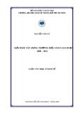 Luận văn thạc sĩ Giải pháp xây dựng thương hiệu vifon giai đoạn 2008-2012