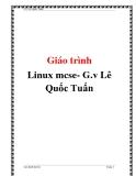 Giáo trình linux mcse- G.v Lê Quốc Tuấn