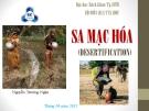 Sa mạc hóa - Nguyễn Trường Ngân