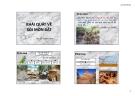 Bài giảng Khái quát về xói mòn đất - Nguyễn Trường Ngân