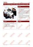 Bài 4: Kỹ năng giao tiếp trong nội bộ doanh nghiệp