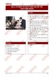 Bài 2: Kỹ năng tổ chức tham gia hoạt động nhóm