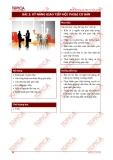 Bài 3: Kỹ năng giao tiếp hội thoại cơ bản