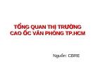 TỔNG QUAN THỊ TRƯỜNG CAO ỐC VĂN PHÒNG TP.HCM