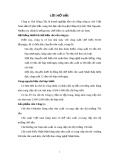 """ĐỀ TÀI """" QUY TRÌNH SẢN XUẤT CHÈ ĐEN  THEO PHƯƠNG PHÁP TRUYỀN THỐNG OTD TẠI CÔNG TY CHÈ SÔNG CẦU """""""