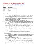 Bài 2: Mô tả kiểu sử dụng