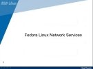 Fedora Linux Network Services