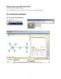 Packet Tracer Lab: ARP (100 points)