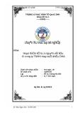 """Báo cáo đề tài """" Hoàn thiện kế toán nguyên vật liệu tại công ty may xuất khẩu DHA """""""