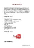 Hướng dẫn upload video clip