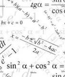 Hệ thống công thức phần lượng giác
